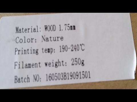 wasLIVE~Printing Wood & Wax Filaments