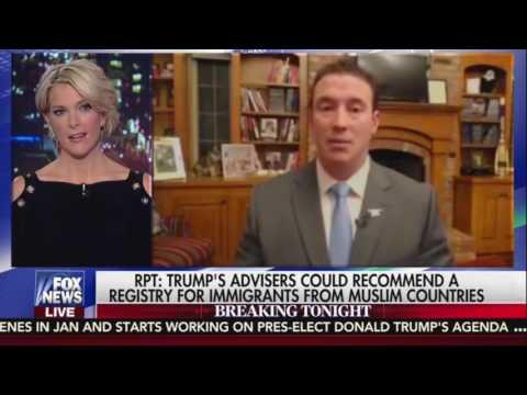 Trump Advisor Carl Higbie: Internment Camps Set Precedent for Muslim Registry