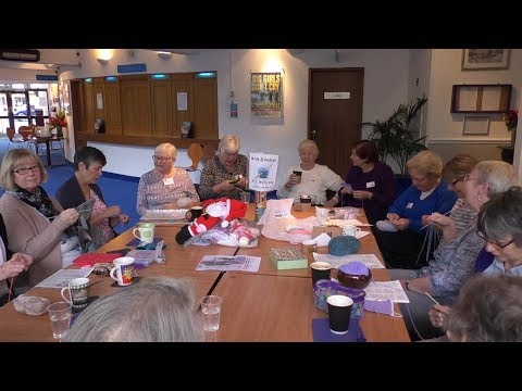 Guildford Knitting Group Make Hats For Underprivileged Children Abroad