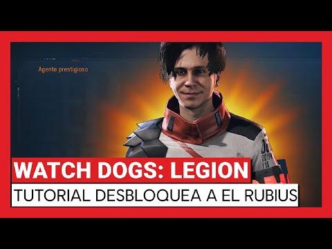 Watch Dogs: Legion - Tutorial desbloquea a Rubius