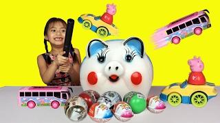 Crocodile Dentist Toy Challenge Game - Shopkins Surprise Eggs - Spongebob - Bubble Gum Gumballs