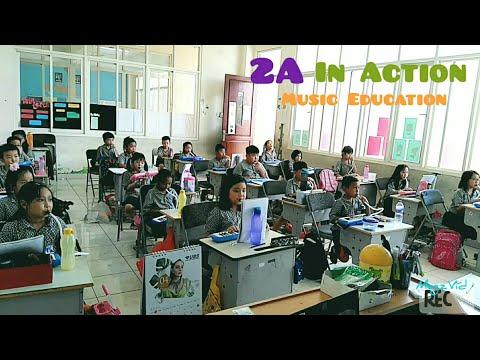 2A class - Hati Senang - Pianica - SD Kristen Anak Panah Surabaya - Elementary School - pianika