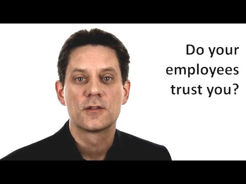 Do your employees trust you? Unmistakable Symptoms that you are not a leader - Part 5