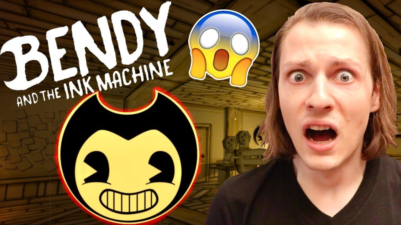BENDY AND THE INK MACHINE : CE JEU D'HORREUR ME FAIT TROP PEUR ! GAMING DÉLIRES DE MAX #1