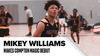 Mikey Williams Shows Out in Compton Magic AAU Debut - Full Highlights