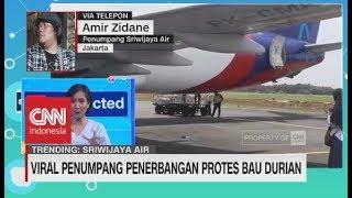 Kesaksian Penumpang Sriwijaya Air Soal Bau Durian