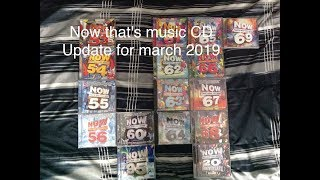 (Reupload)NOW That's music CD Collection for march 2019!