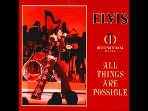 Elvis Presley - All Things Are Possible - January 27 1971 Full Album