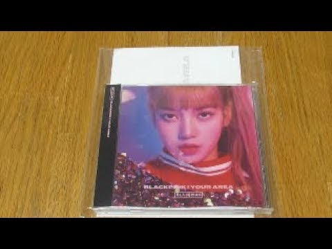 (Unboxing) BLACKPINK 1st Japanese Full Album BLACKPINK In Your Area (Lisa Ver)