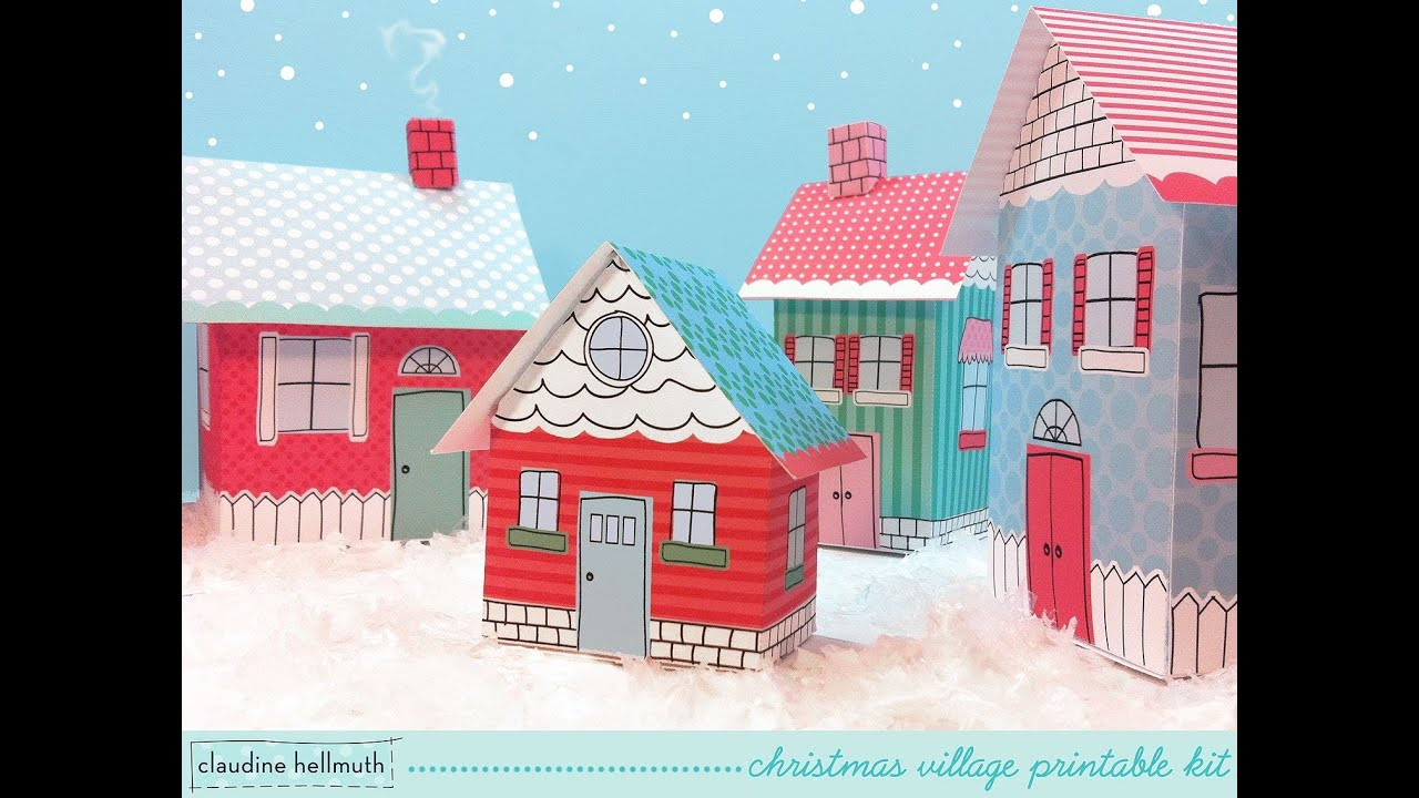 Christmas Village Storage Boxes - Listitdallas