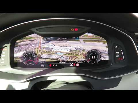 neuer Audi A6 (2018) - Infotainment, Navi und Virtual Cockpit