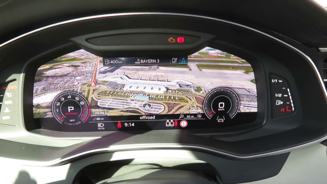 Neuer Audi A6 2018 Infotainment Navi Und Virtual Cockpit Youtube