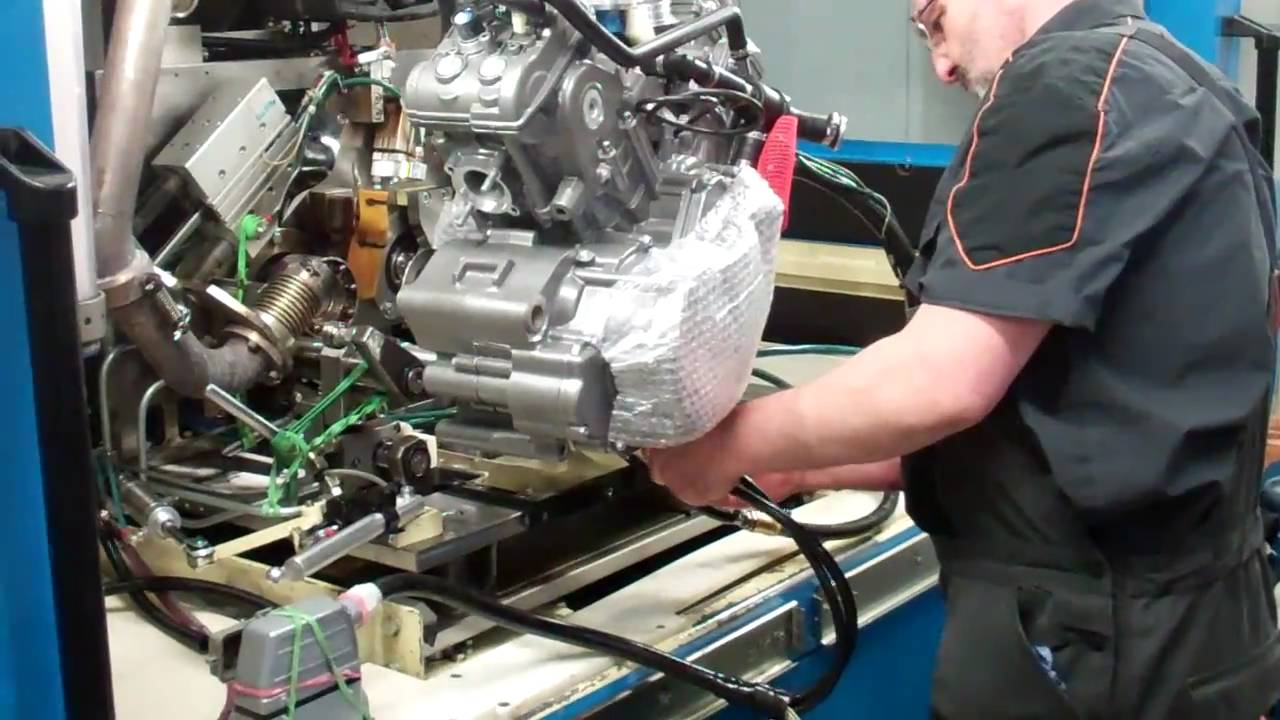 ktm factory tour 2011 lc8 dyno engine testing 1 youtube