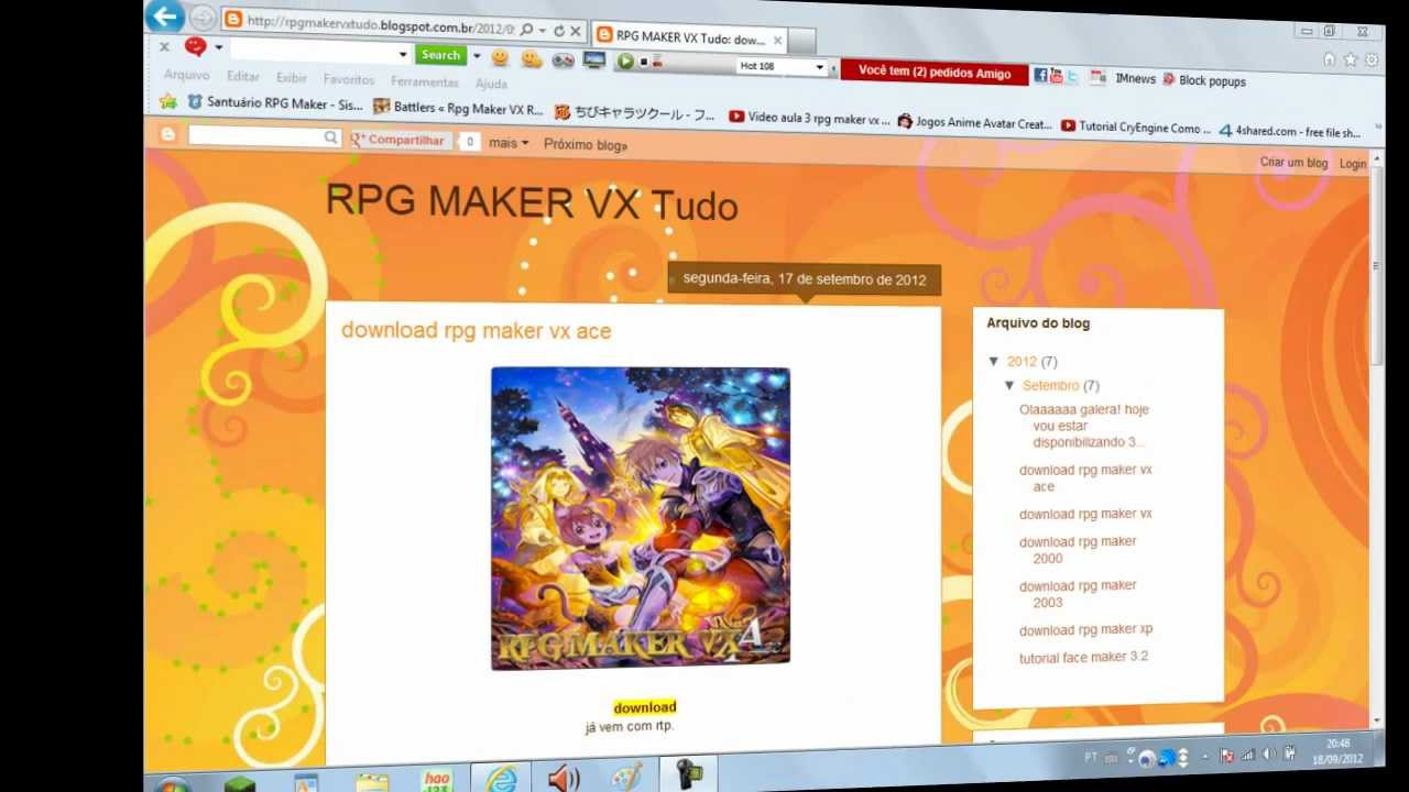 DOWNLOAD XP RTP PORTUGUES RPG GRATUITO MAKER