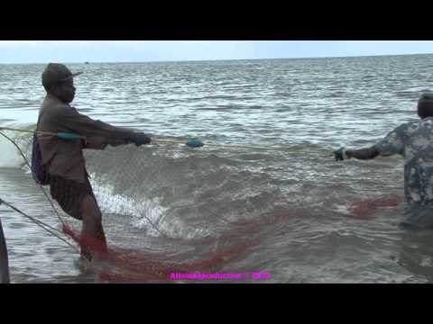 Garifuna Shore Fishing, Honduras