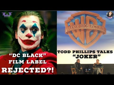 Warner Bros. REJECTED A DC DARK FILM UNIVERSE?!: Q & A With JOKER Director TODD PHILLIPS!