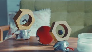 UK: New Discovery: Rare Footage of Meltan in the Wild!