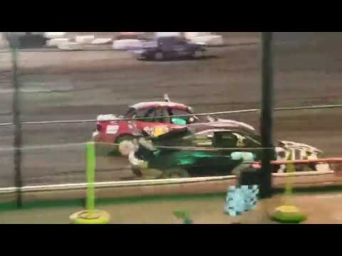 Sycamore Speedway Racing Sept 6, 2019 Compact Trophy Dash Race