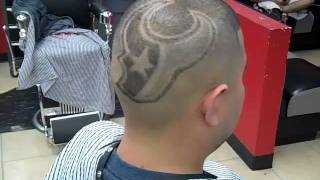 Houston Texans Logo By Rick aka Da People's Barber