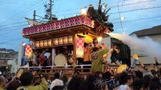 駒形神社祭典での御前崎六区集まってのお囃子披露、大山地区.