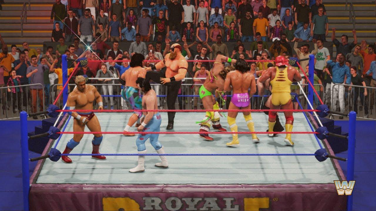 WWF 2K19 | ROYAL RUMBLE MATCH | 1988 - 1989