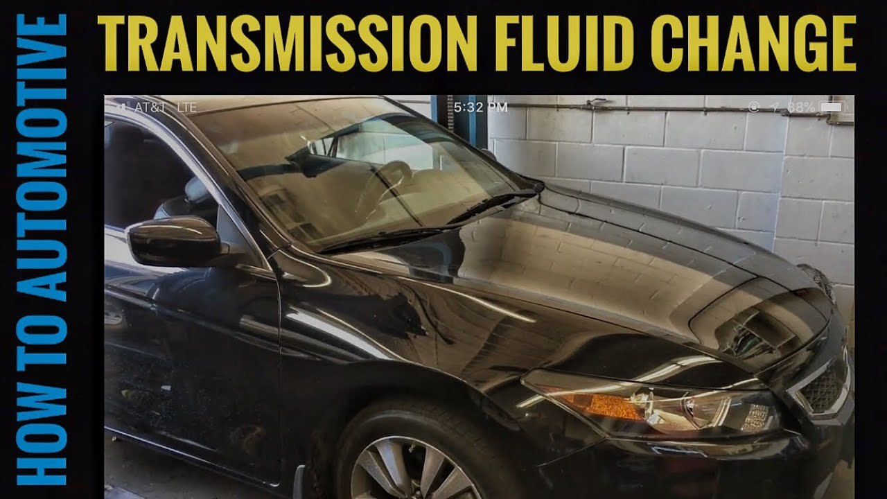 how to change the transmission fluid on a 2008 honda accord youtube. Black Bedroom Furniture Sets. Home Design Ideas