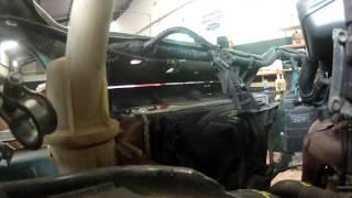 Fiat Punto 55 :  Démonter le radiateur et le ventilateur
