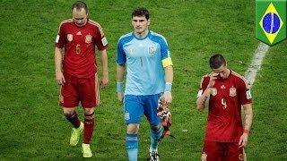 Download Video ЧМ-2014: Испания выбыла, Англия - на волоске после поражения Уругвая MP3 3GP MP4