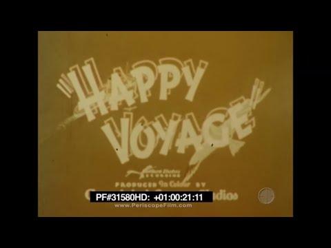 Happy Voyage - 1948 Canadian Pacific Travelogue, England, Canada Quebec City 31580 HD