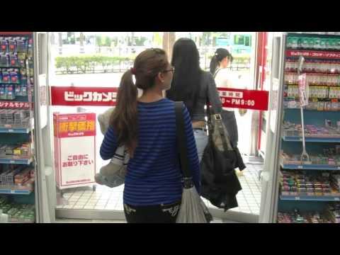 Tokyo walking tour w/ Tiptida and her Sister Jantra