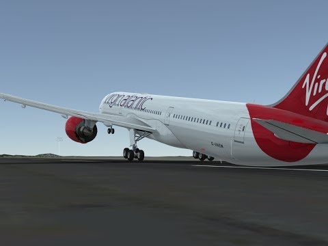 VIR105 | London (EGLL) to Seattle (KSEA) | Tail Strike!!