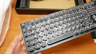 Скачать КЛАВИАТУРА AOYEAH K200 Распаковка и обзор механической клавиатуры