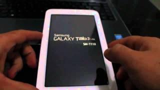 RESET-Samsung Galaxy Tab 3 Restaurar configurações de fabrica