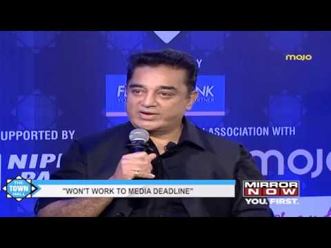 Barkha Dutt talks to Kamal Haasan on the #Townhall