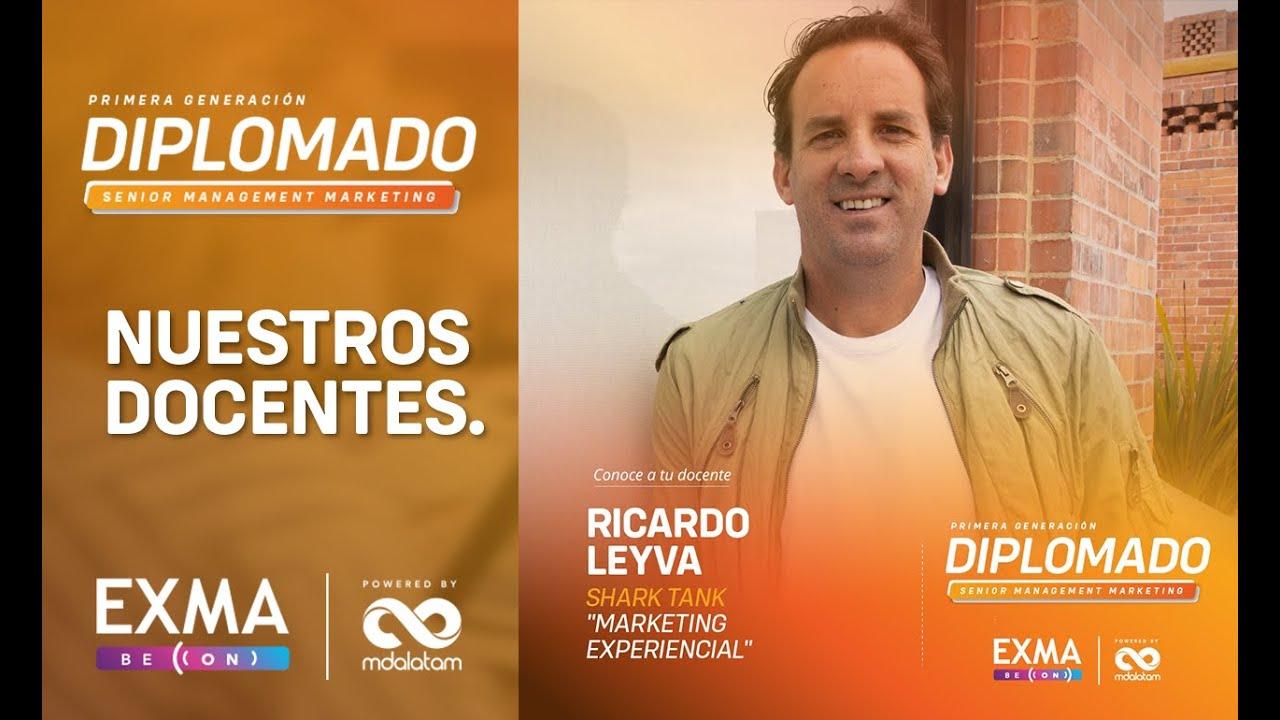 Ricardo Leyva Fundador Sistole y Shark Thank Colombia - Diplomado marketing digital EXMA - MDALatam