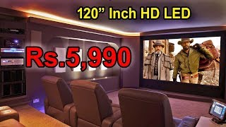 "120""Inch HD LED projector TV"