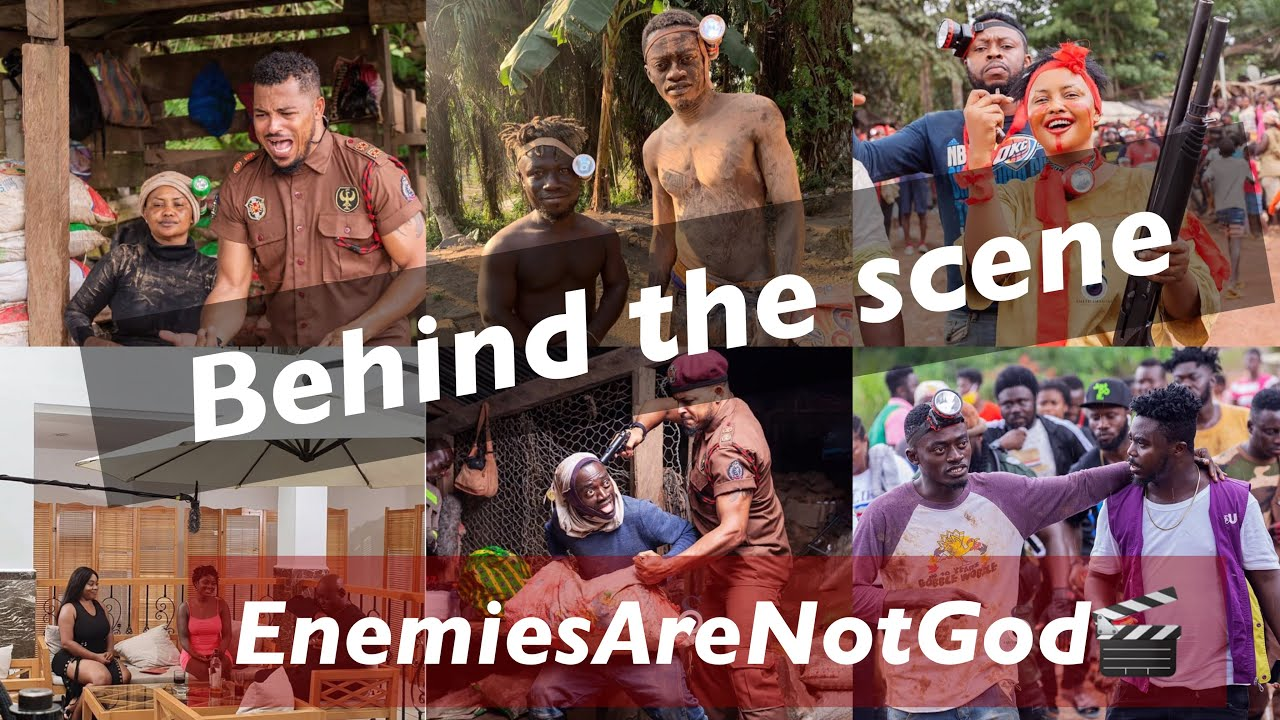 Download Behind The Scene - Enemies Are Not God Movie 🎬.