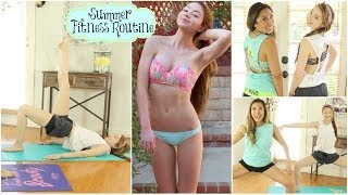 Summer Fitness Routine: Get Bikini Body Confident w/ Blogilates! Thumbnail