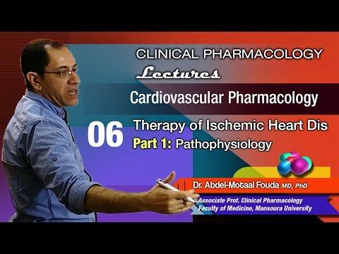 Cardiovascular Pharmacology - 06 - Ischemic heart disease pathophysiology thumbnail