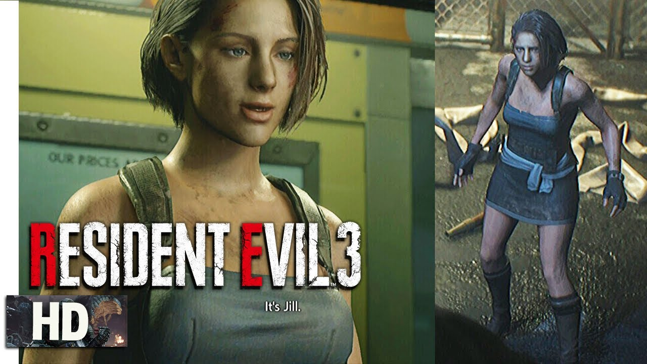 Resident Evil 3 Remake Jill Valentine Classic Outfit Re3 Mod 1080p 60fps Youtube