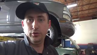 Chevrolet Astro осматриваем авто на подьемнике !!!