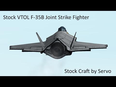 KSP Stock VTOL Joint Strike Fighter