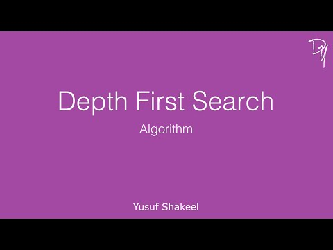 Depth First Search Algorithm - step by step guide