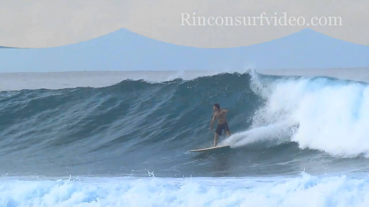 Surfing Dogman's Break Rincon Puerto Rico - YouTube