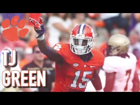 TJ Green || Shutdown Safety || Clemson Highlights