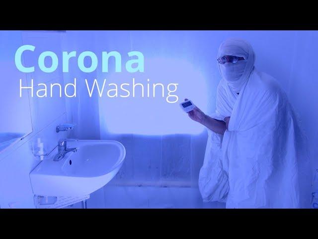 Corona hand washing Instructions (1 minute)