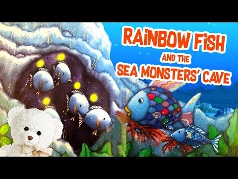 Kids Book Read Aloud | Rainbow Fish And The Sea Monsters' Cave By Marcus Pfister