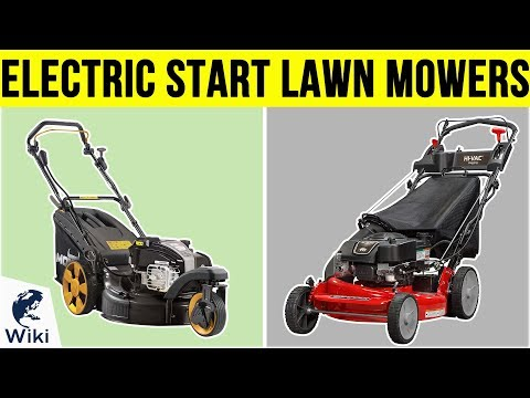 Top 8 Electric Start Lawn Mowers of 2019 | Video Review