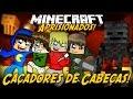 Minecraft: Aprisionados - CAÇADORES DE CABEÇAS! #13