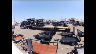 Truck Load of Carson Trailers